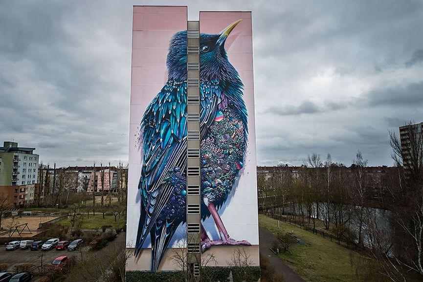 Папка «Фото», Стрит-арт-история развития и лучшие примеры уличного искусства – Муралы Берлина 1.