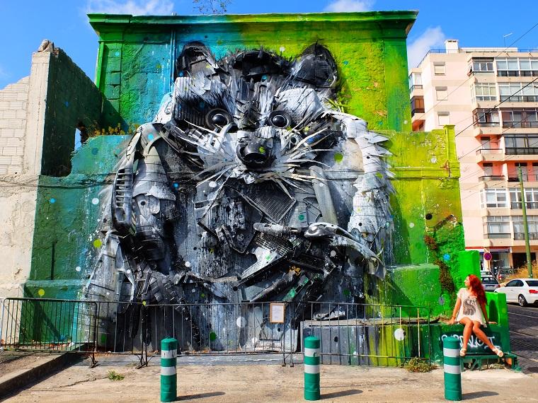 Папка «Фото», Стрит-арт-история развития и лучшие примеры уличного искусства – Муралы Лиссабона 1.