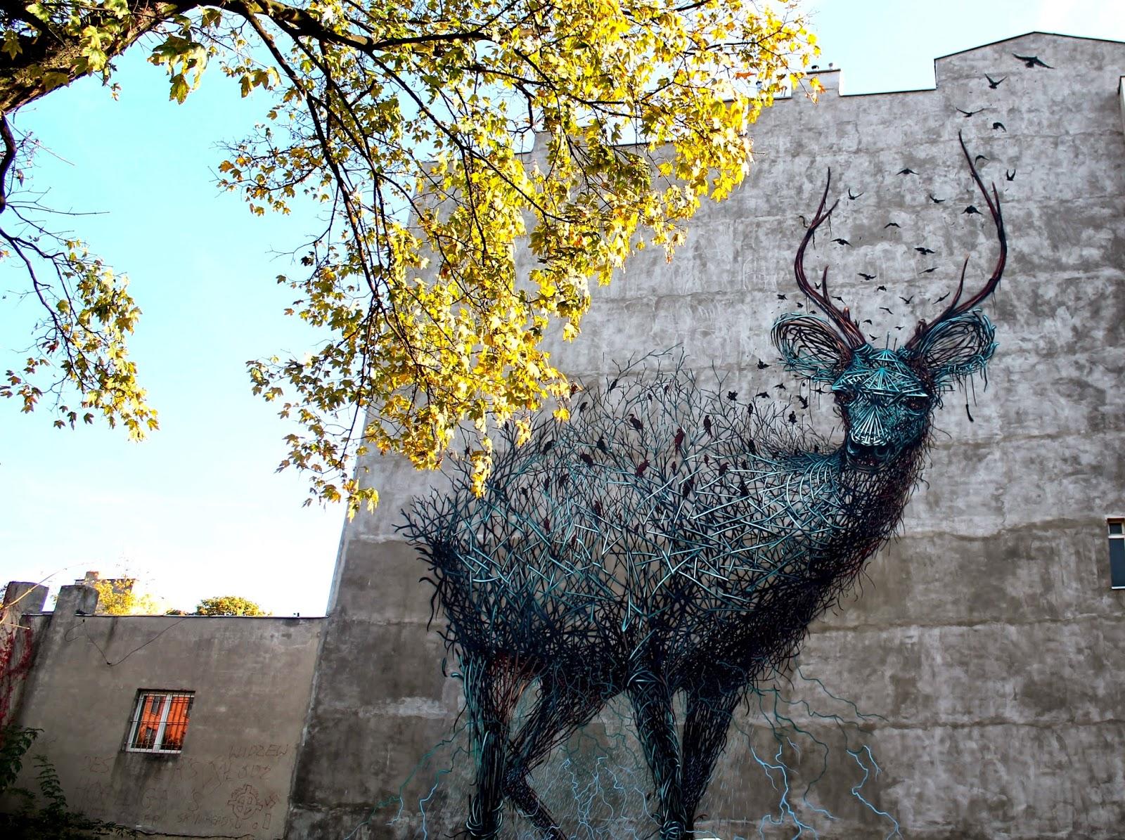 Папка «Фото», Стрит-арт-история развития и лучшие примеры уличного искусства – Муралы Лодзя 2.
