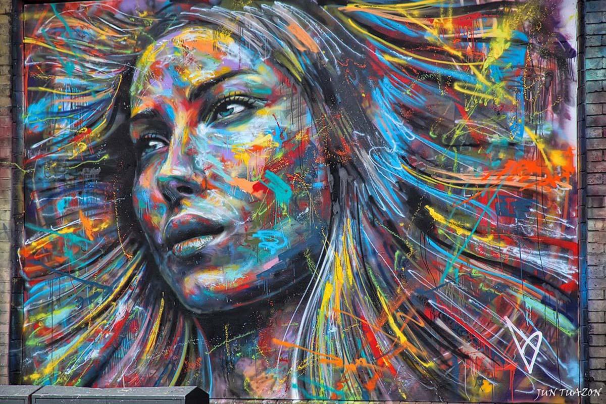 Папка «Фото», Стрит-арт-история развития и лучшие примеры уличного искусства – Муралы Лондона 1.