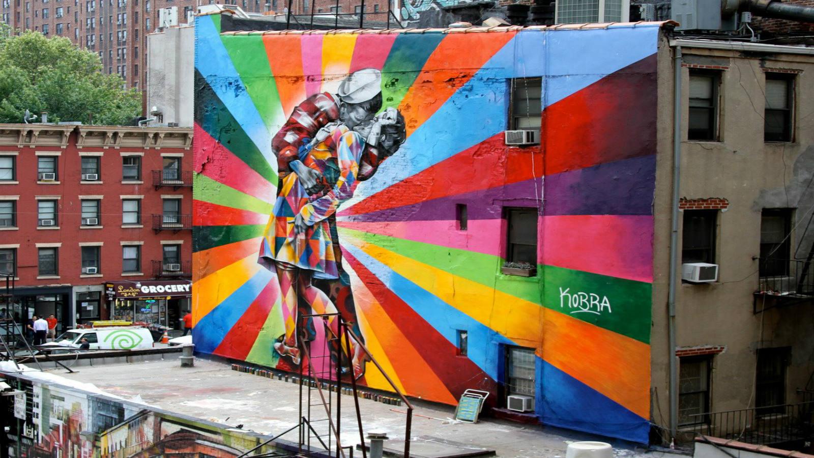 Папка «Фото», Стрит-арт-история развития и лучшие примеры уличного искусства – Муралы Нью-Йорка 2