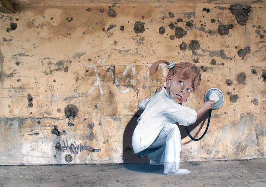 Папка «Фото», Стрит-арт-история развития и лучшие примеры уличного искусства – Муралы Праги 2.