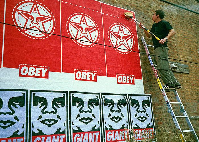 Папка «Фото», Стрит-арт-история развития и лучшие примеры уличного искусства – OBEY.