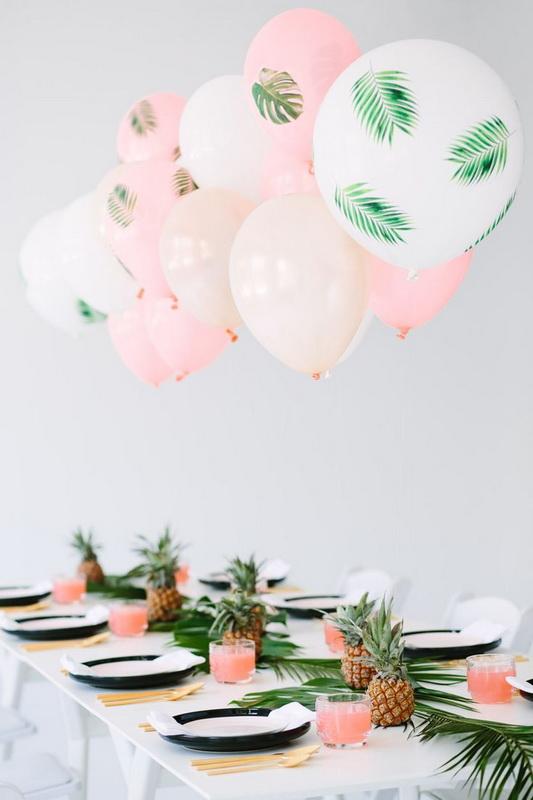 Парящие украшения-для летней вечеринки