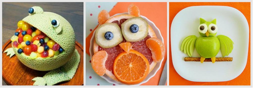 Подача фруктов для детей-вкусные идеи и фото
