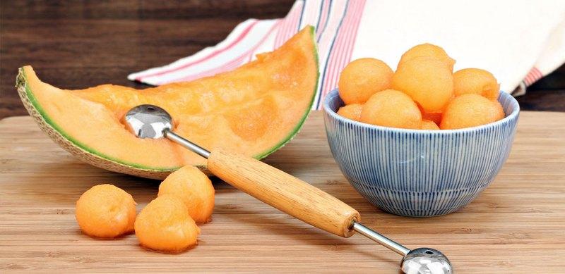 Приспособление для нарезки шариков-из арбуза и дыни