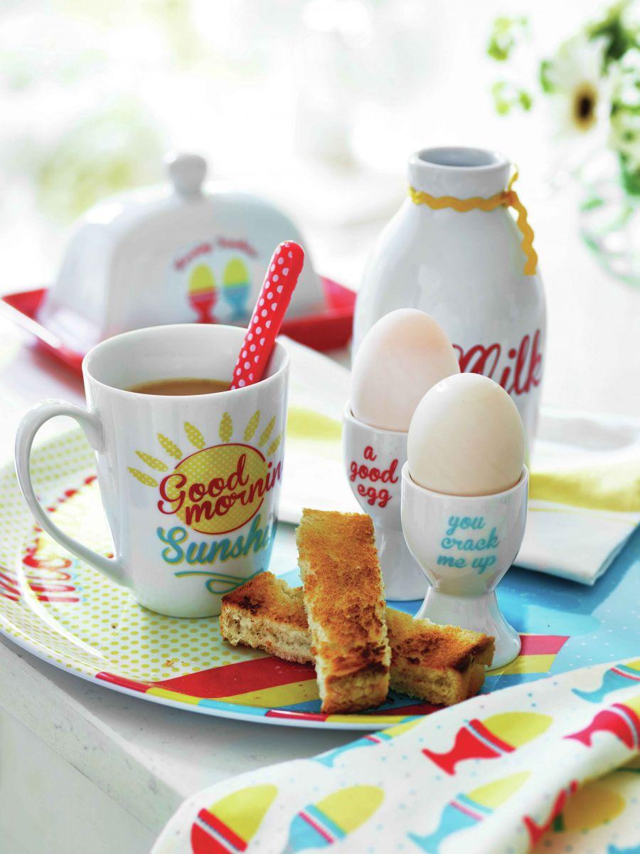 Завтрак-летняя сервировка стола