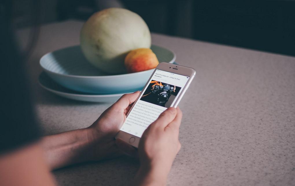 Чтение книг-смартфон