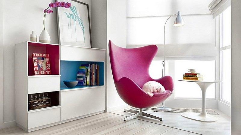 Дизайнерское кресло-зона для чтения