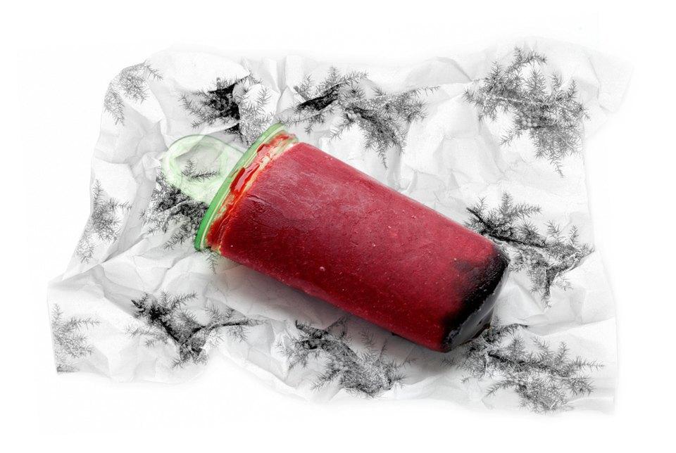 Фруктовый лед-плотность ингредиентов