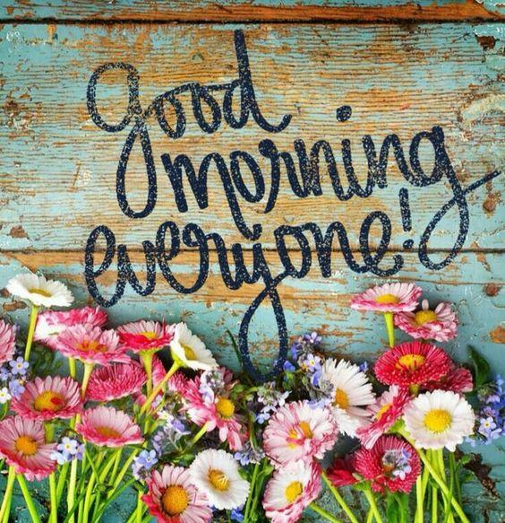 Good morning everyone-photo