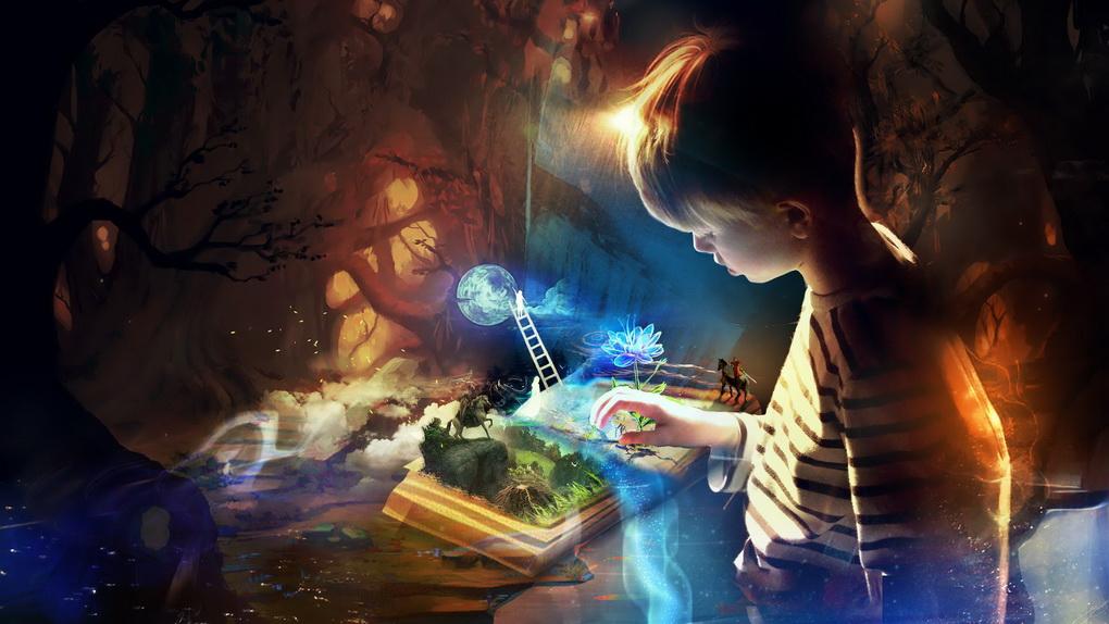 Книги-развивают воображение