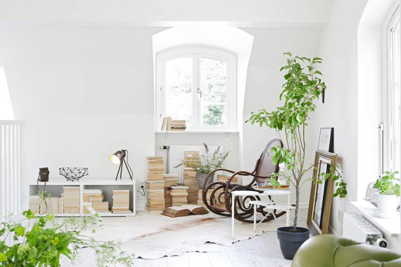 Комфортная мебель-зона для чтения фото