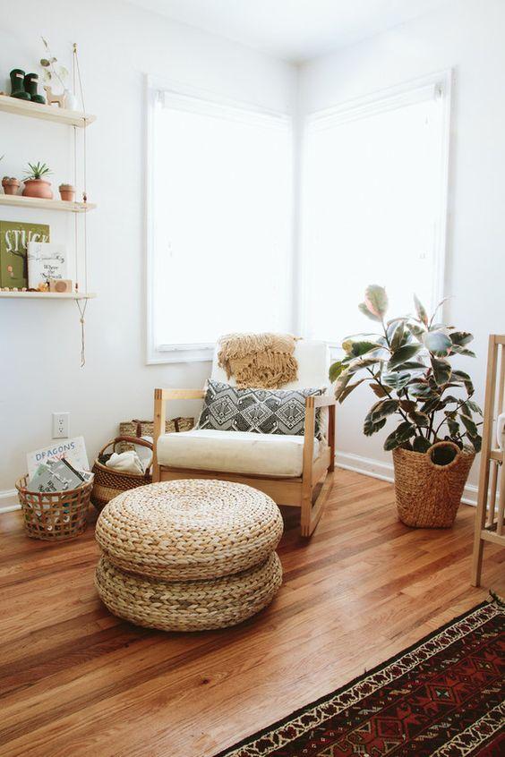 Комфортная мебель-зона для чтения