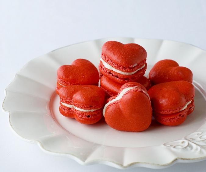 Макароны ко Дню святого Валентина-фото
