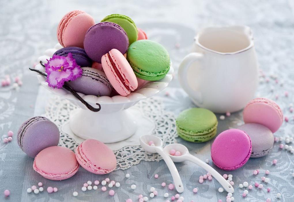 Макароны-модная сладость