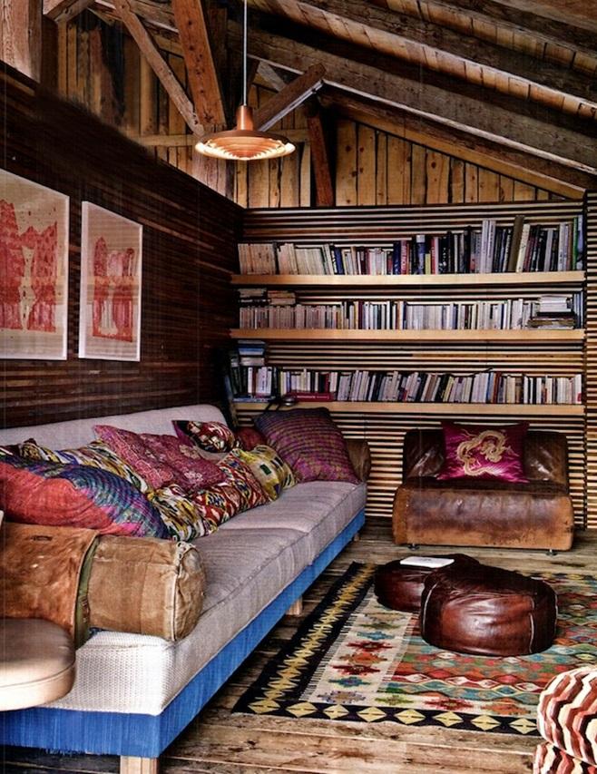 Мансарда-место для чтения