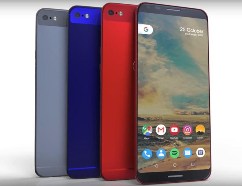 Папка «Фото», Изображения Google Pixel 2 XL появились, а когда ждать сам смартфон– Pixel 2 XL.
