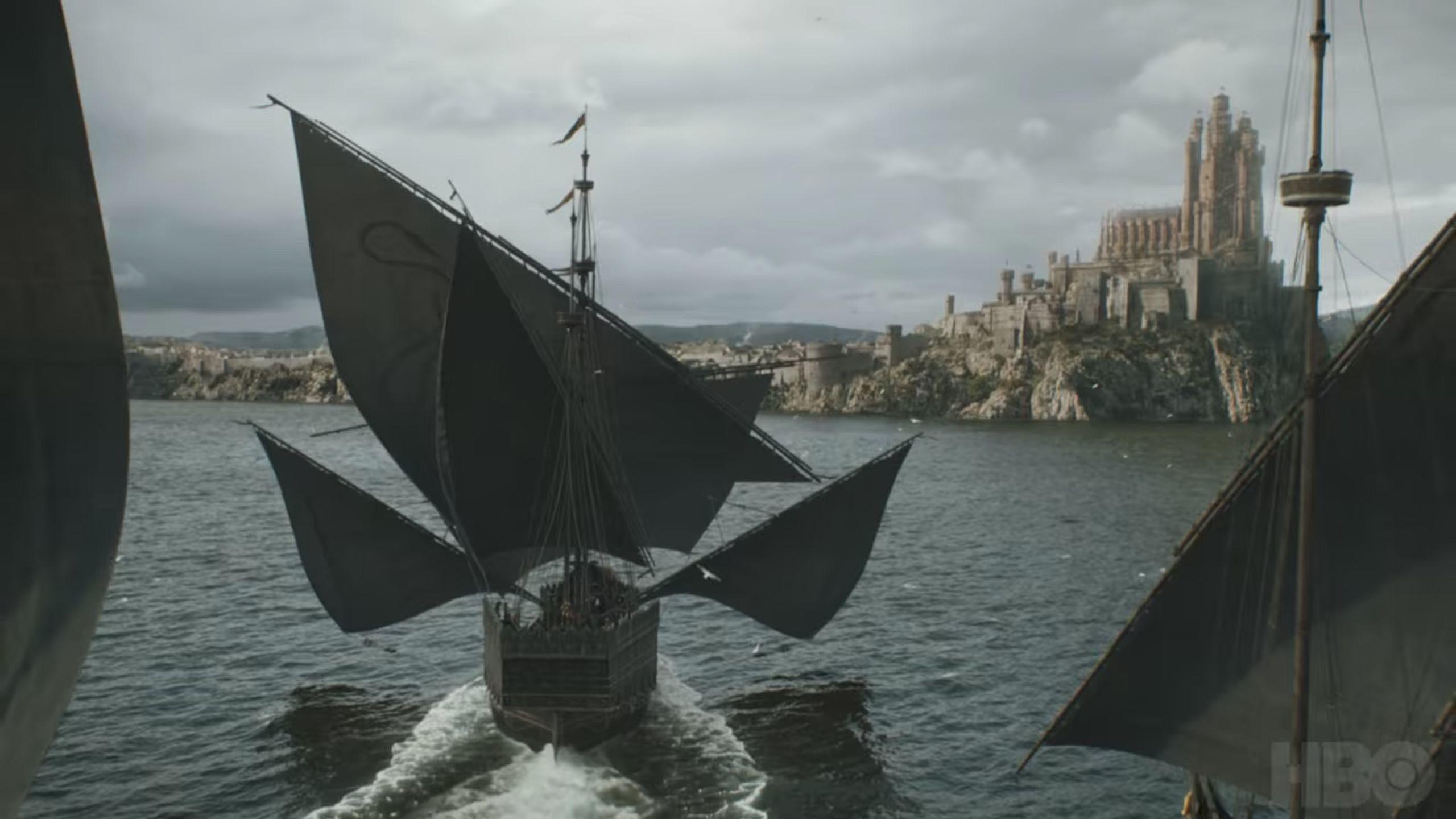 Папка «Фото», Куда катится Вестерос - разбор второй серии «Игры престолов» – корабль Эурона.