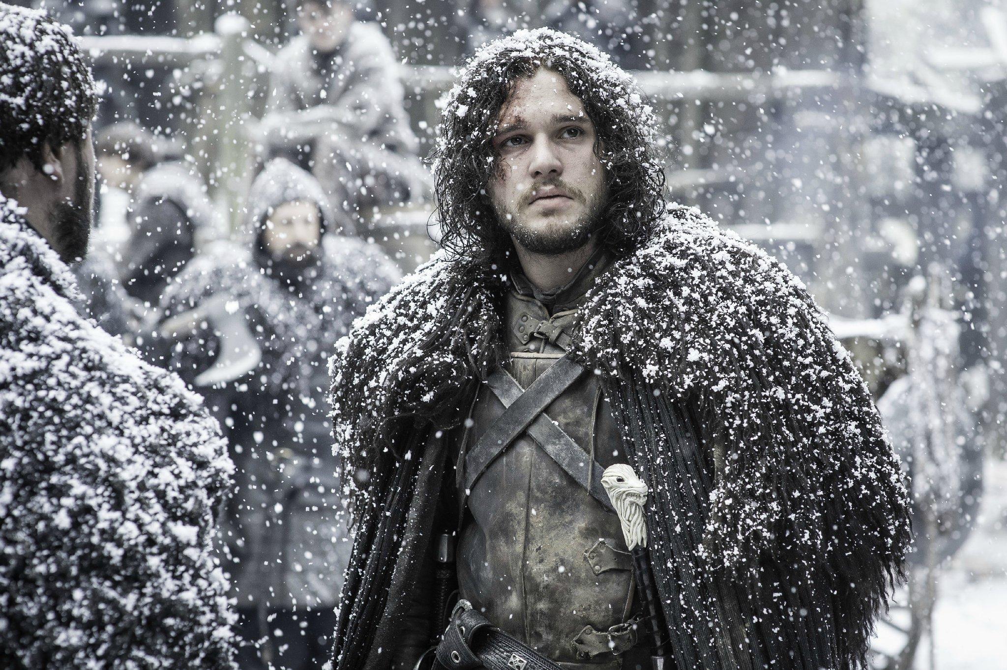 Папка «Фото», Зима пришла! Все, что нужно знать об Игре престолов – Джон Сноу.