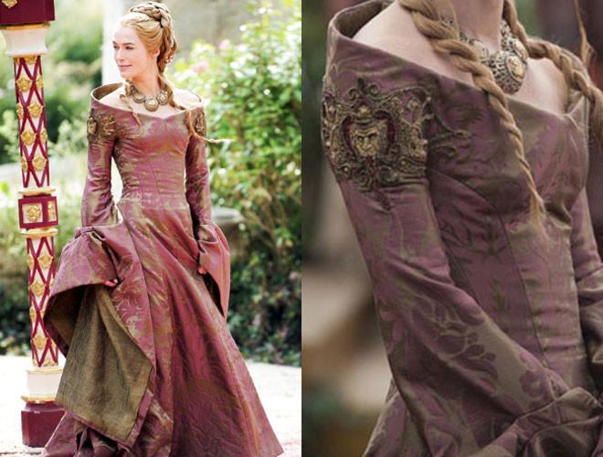 Папка «Фото», Зима пришла! Все, что нужно знать об Игре престолов – платье Серсеи.