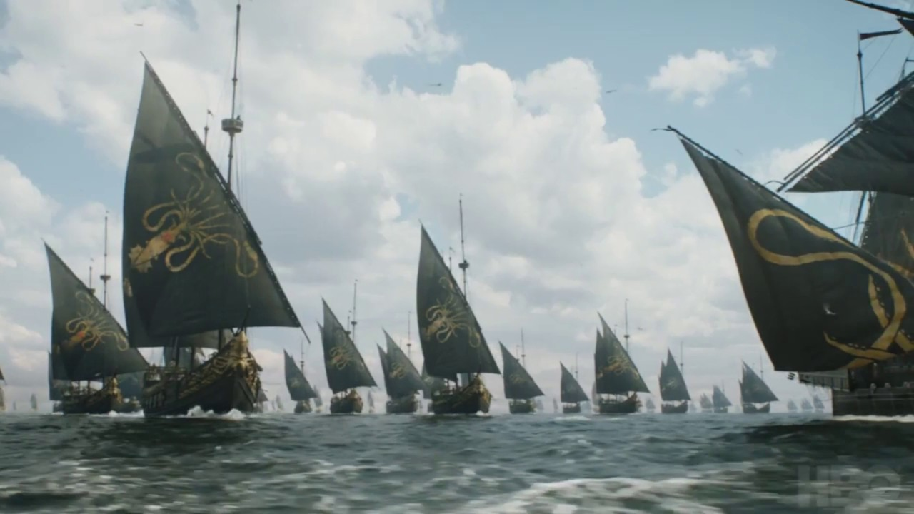Папка «Фото», Зима пришла! Все, что нужно знать об Игре престолов – железный флот.