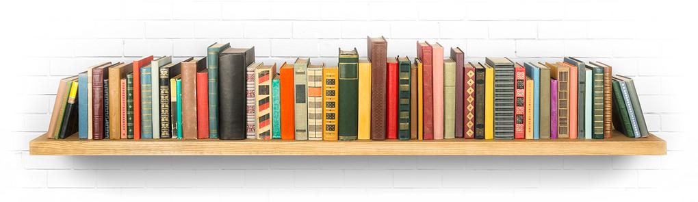 Полка с книгами-саммари