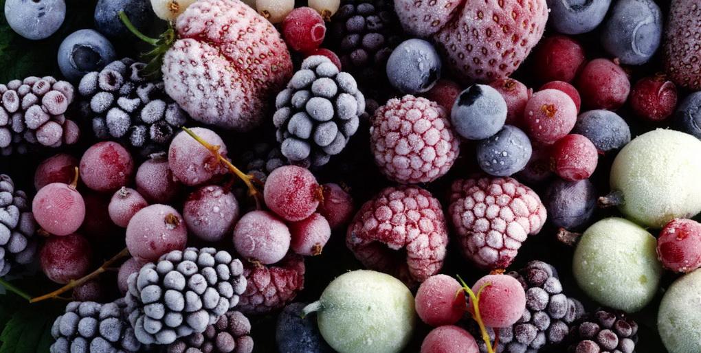 Правильная заморозка ягод и фруктов-советы