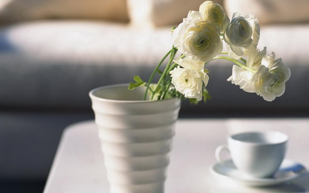 Цветы у кровати-доброе утро