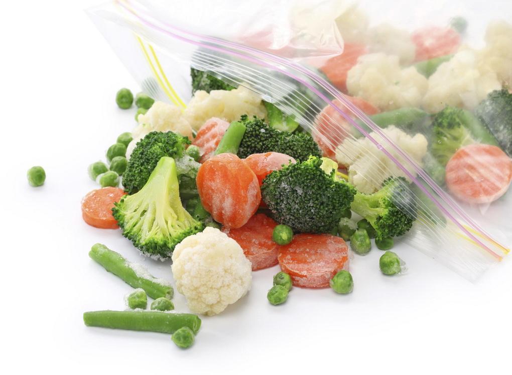 Заморозка овощных смесей-на зиму