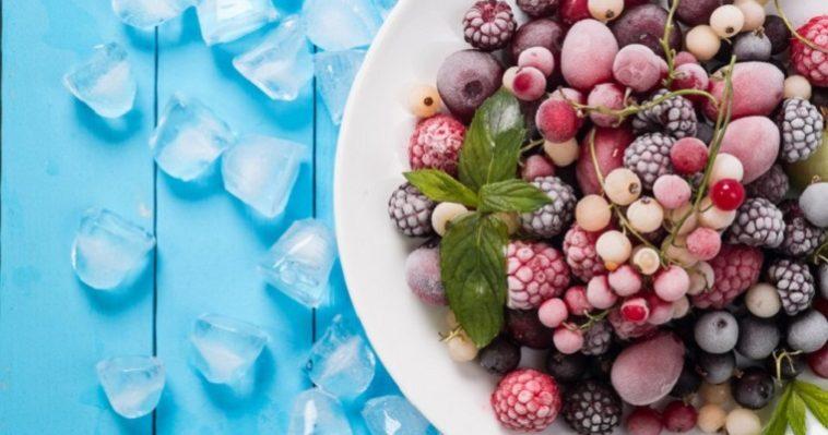 Запасы на зиму. О правильной заморозке ягод, фруктов и овощей