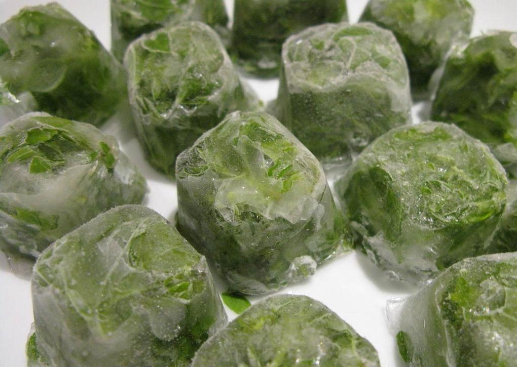 Зелень-кубики