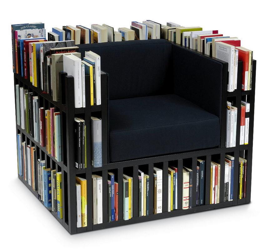 Зона для чтения-оригинальная функциональная мебель