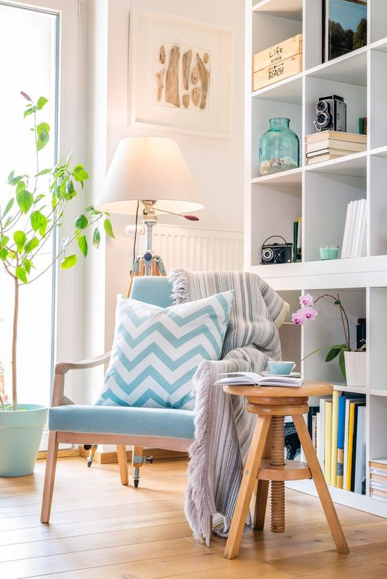 Зона для чтения-текстиль