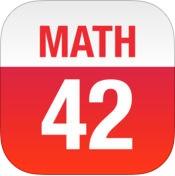 10 полезных iOS-приложений для школьников и студентов – Math 42 logo