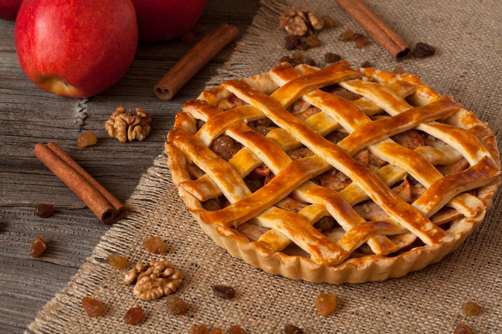 Американский пирог-с яблоками