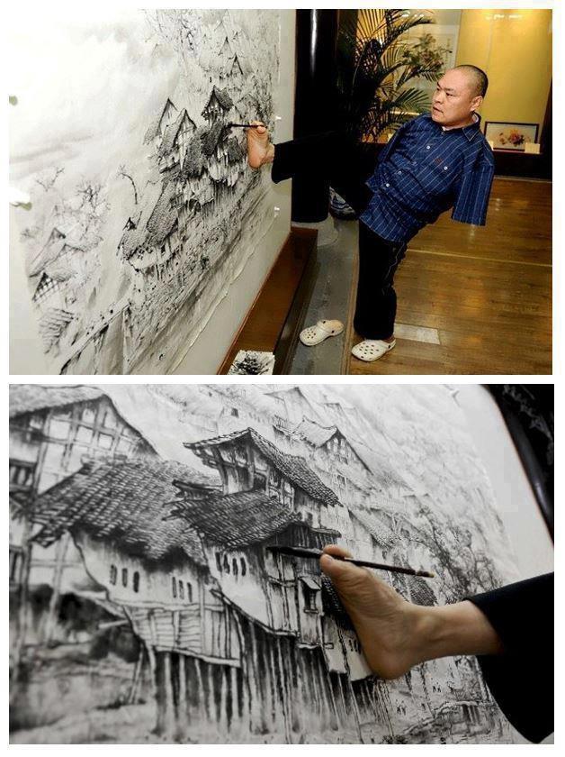 Huang Guofu-картины