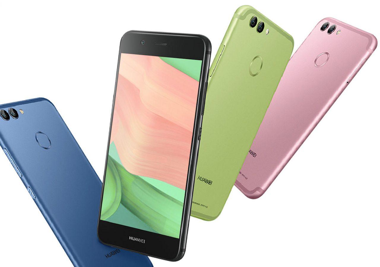 Обзор Huawei Nova 2 - смартфон в разных цветах