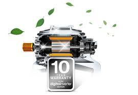 Обзор стиральной машины Samsung WW70K62E69WDUA - инверторный двигатель