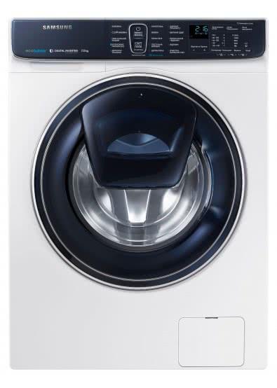 Обзор стиральной машины Samsung WW70K62E69WDUA - стиральная машина фронт