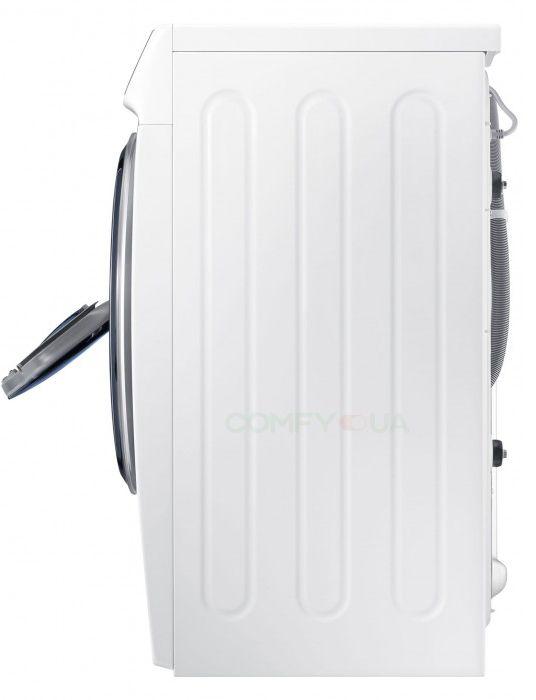 Обзор стиральной машины Samsung WW70K62E69WDUA - стиральная машина сбоку