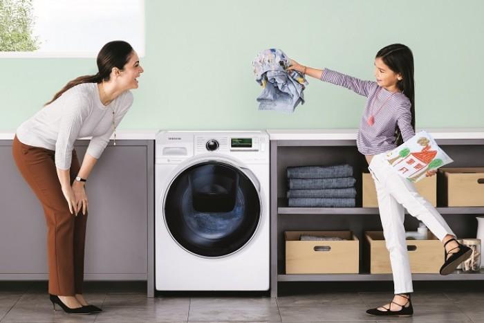 Обзор стиральной машины Samsung WW70K62E69WDUA - стиральная машина в интерьере