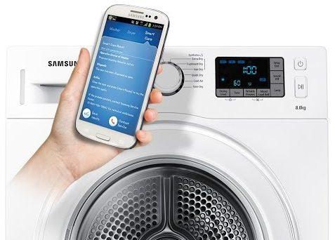 Обзор стиральной машины Samsung WW70K62E69WDUA - технология smartchek
