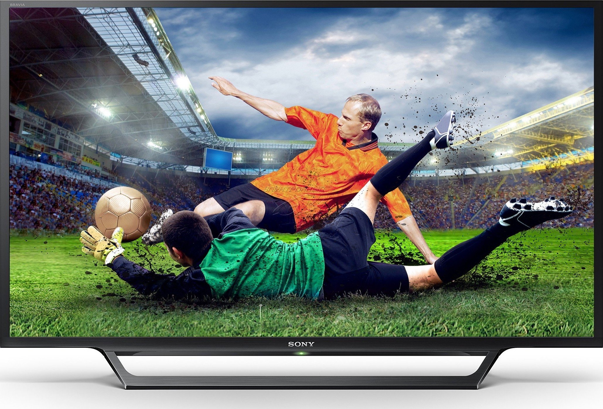 Топ5 телевизоров лета 2017 - телевизор Sony футбол