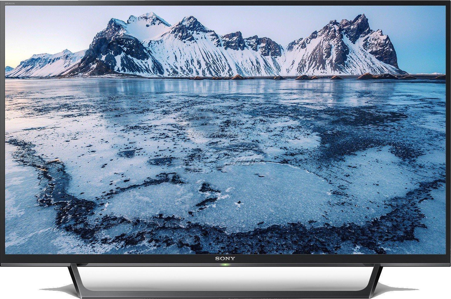 Топ5 телевизоров лета 2017 - телевизор Sony горы