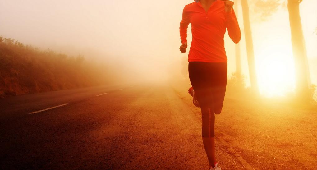 Утренняя пробежка-здоровый образ жизни