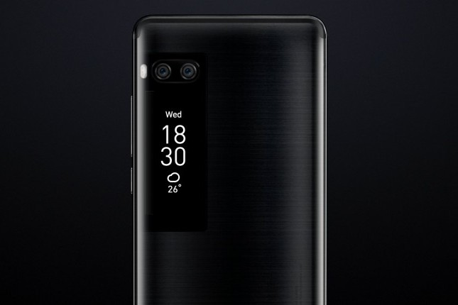 Видео смартфона-флагмана от Meizu создало ажиотаж - дополнительный экран