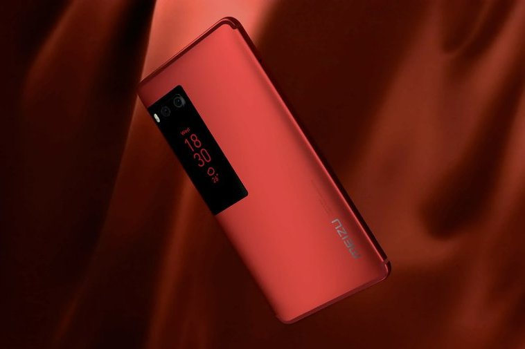 Видео смартфона-флагмана от Meizu создало ажиотаж - красный Meizu
