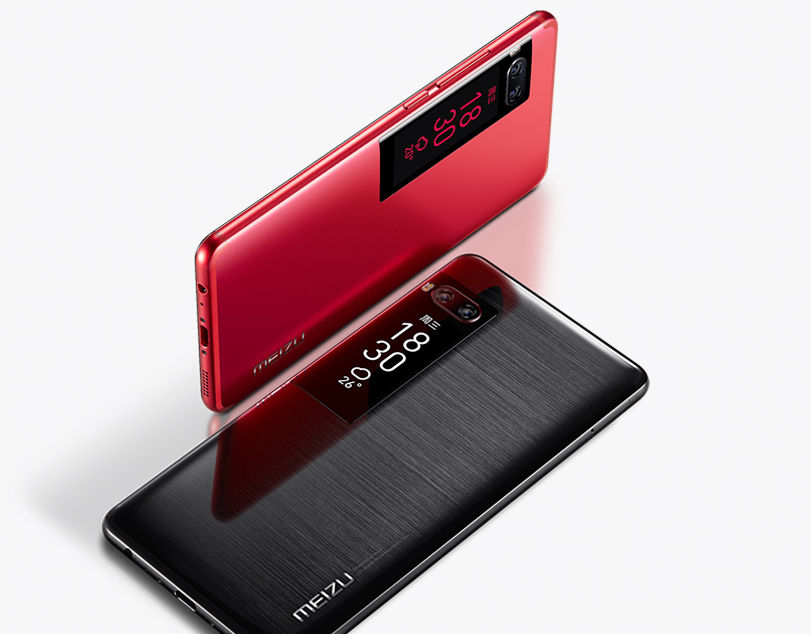 Видео смартфона-флагмана от Meizu создало ажиотаж - смартфон красный и черный