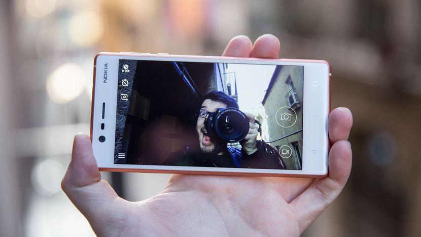 Возвращение смартфонов Nokia_обзор Nokia 3 и Nokia 5 - Nokia 3 с камерой